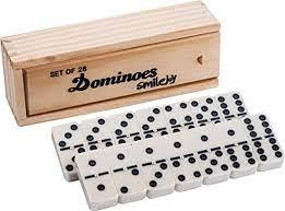 Amazon.com: Juego Smilejoy clásico, doble 6, dominó, con spinner, 28  piezas, para 2-4 jugadores: Toys & Games